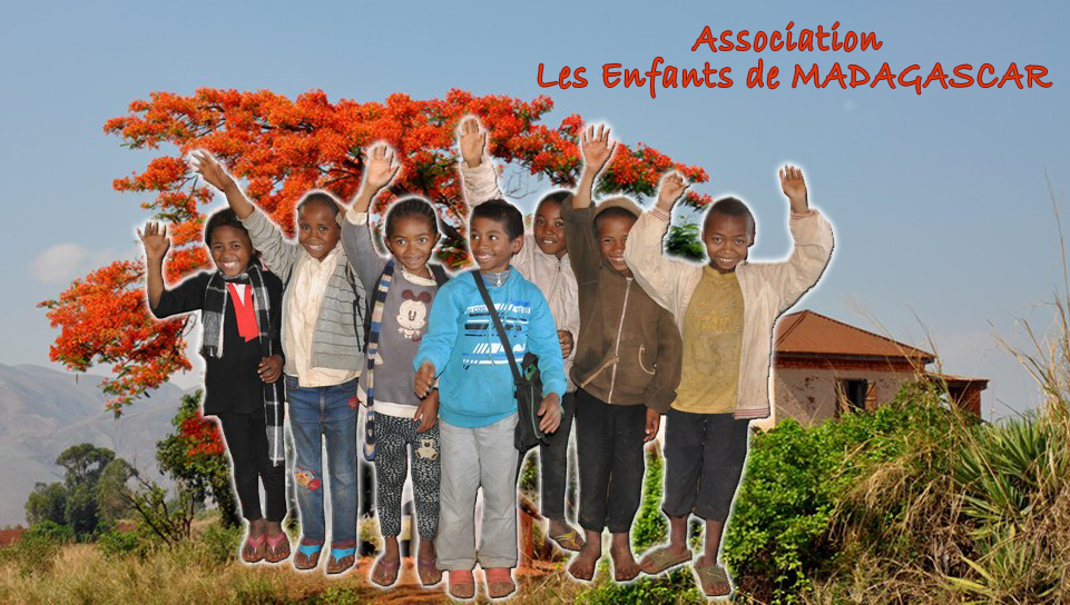 photomontage enfant madagascar